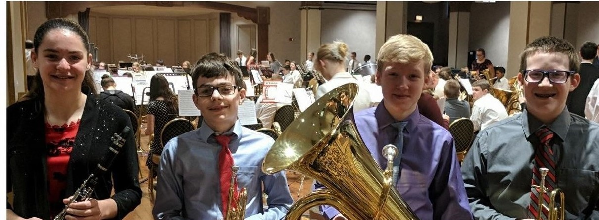 OMEA Honors Band Participants