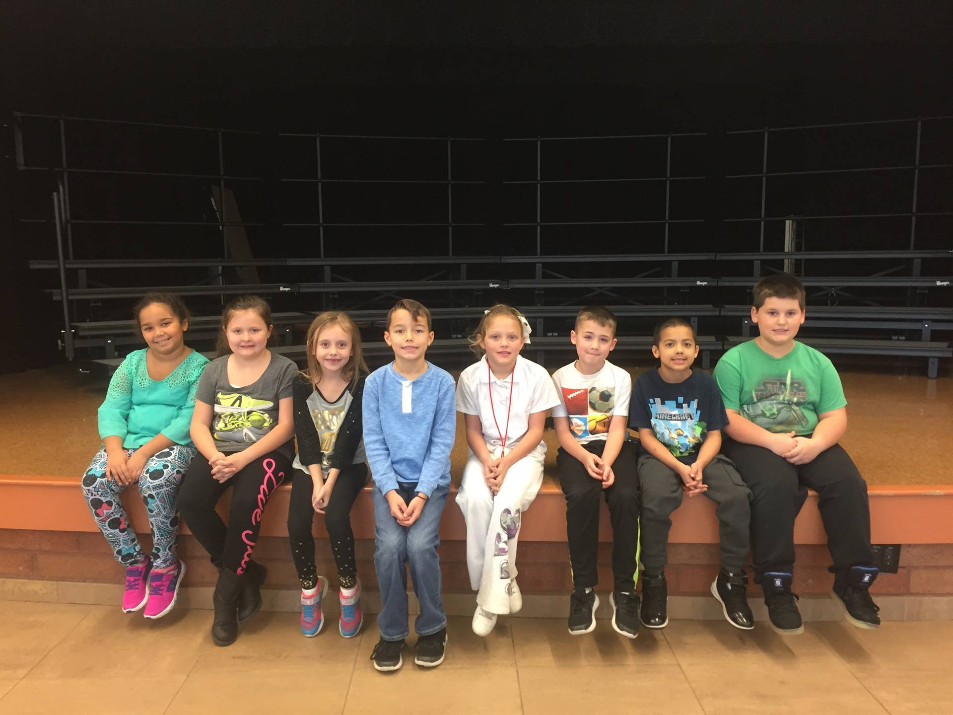 Second Grade November 2017 Students of the Month
