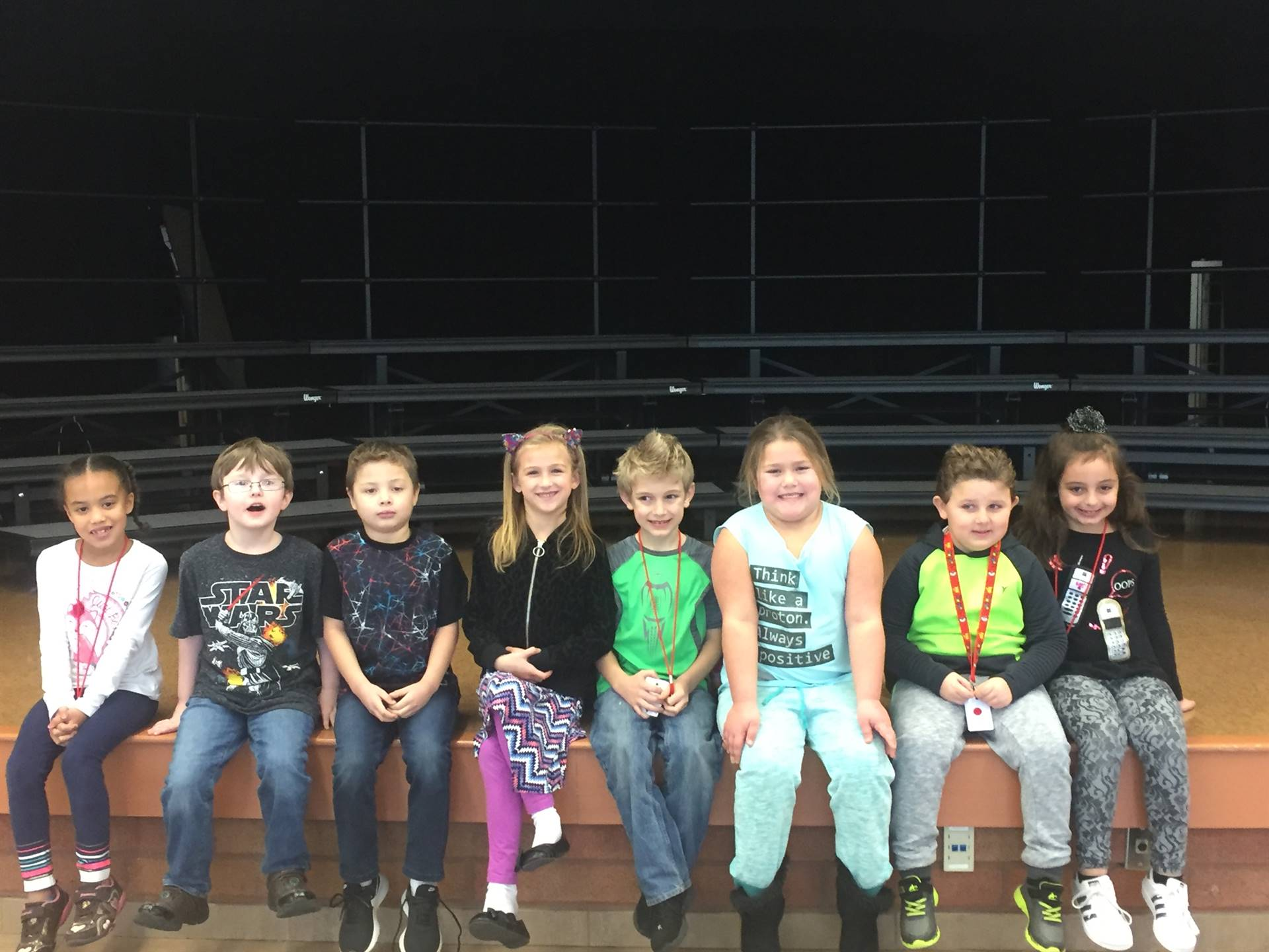 First Grade November 2017 Students of the Month