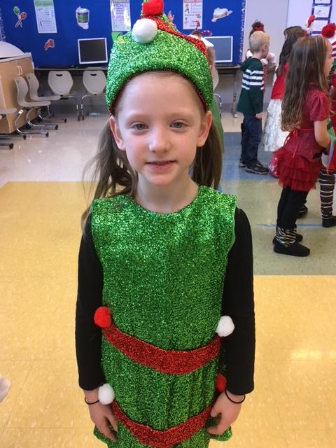 Mrs. Ward's class--Christmas program 2017