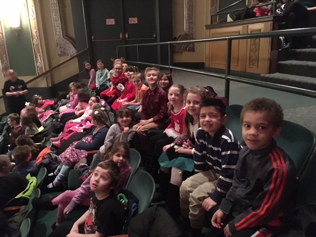 Mrs. Ward's class Field trip to Miracle on Easy Street December2017