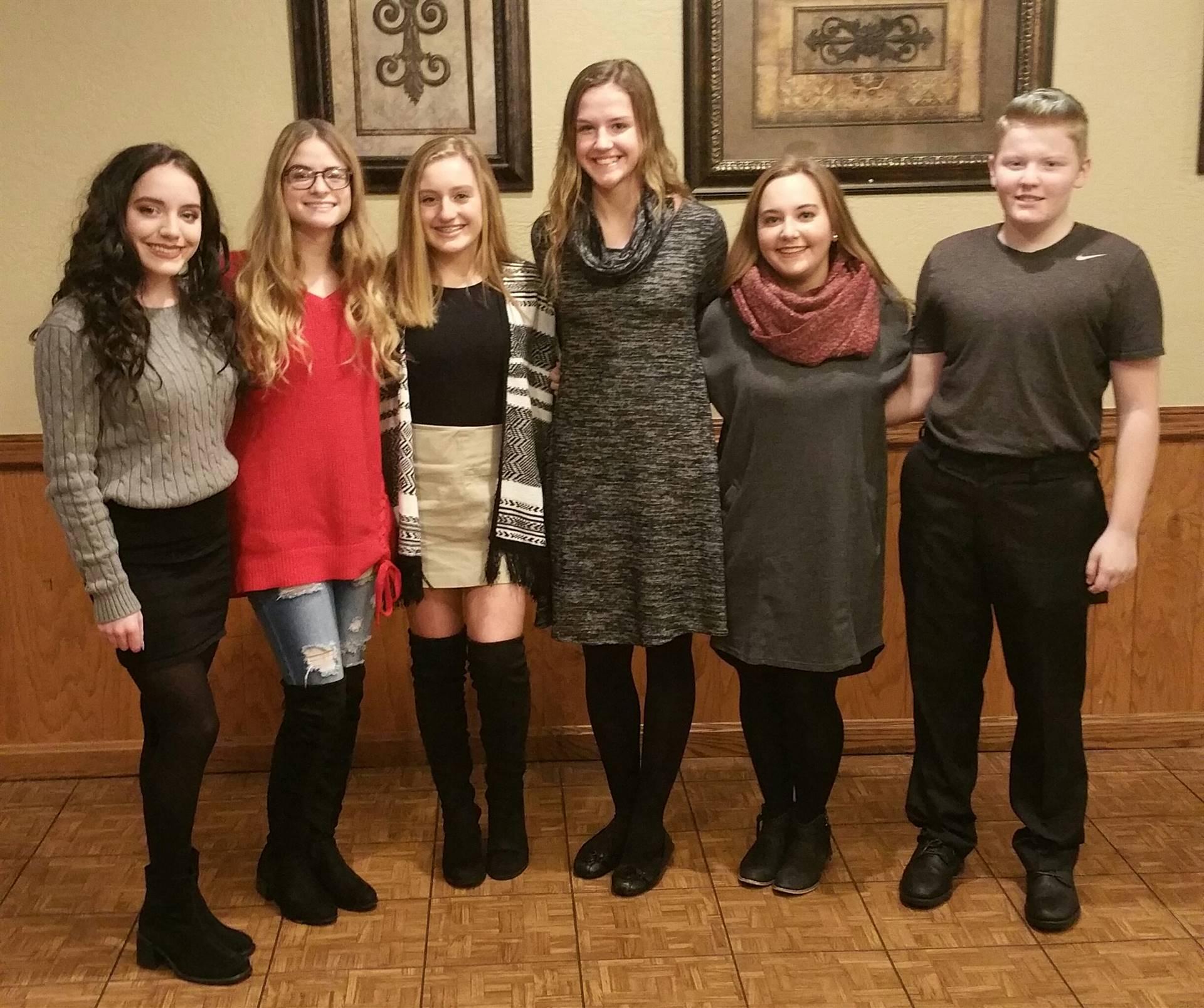2017 Girls Golf Banquet
