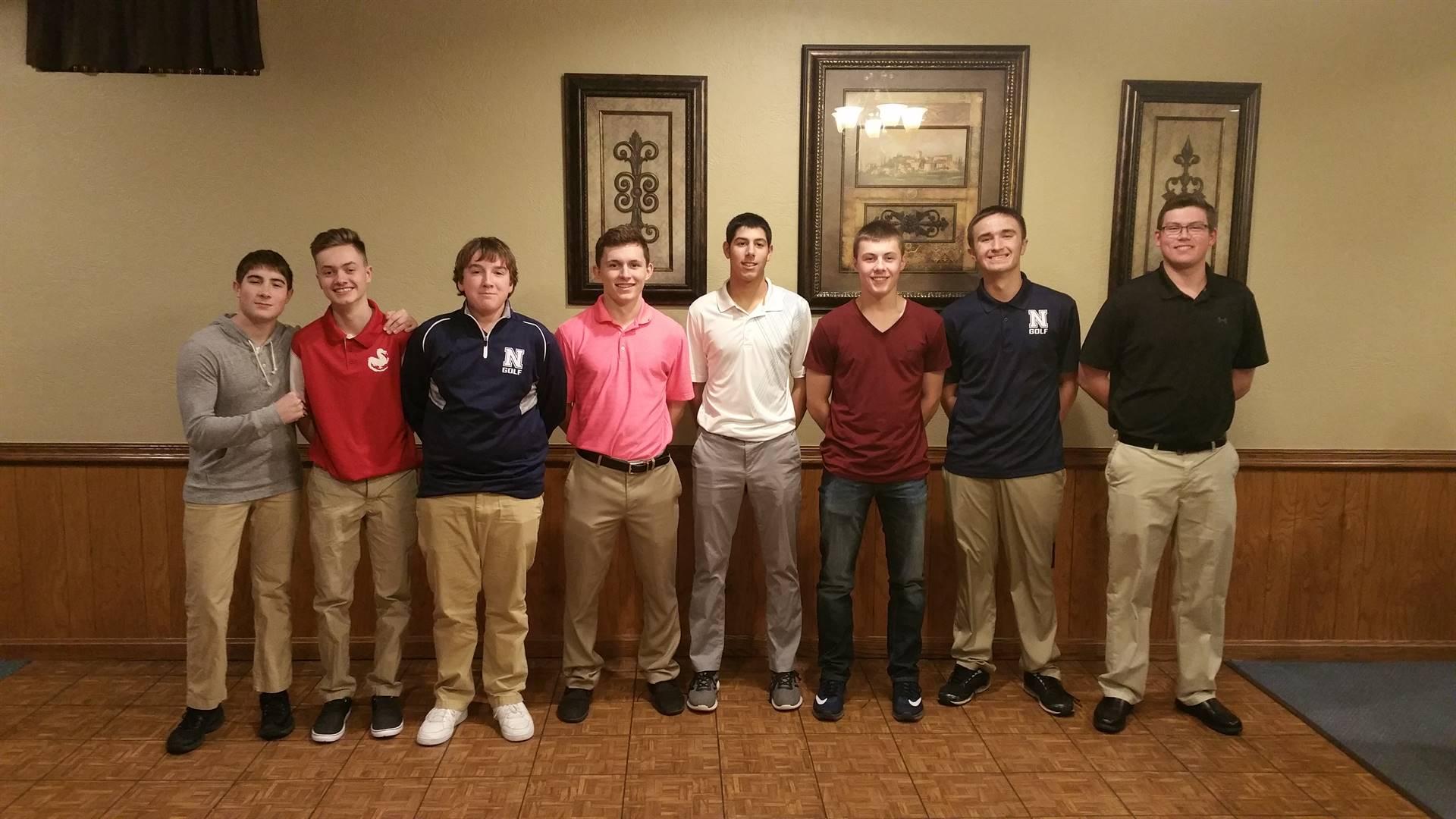 2017 Boys Golf Banquet