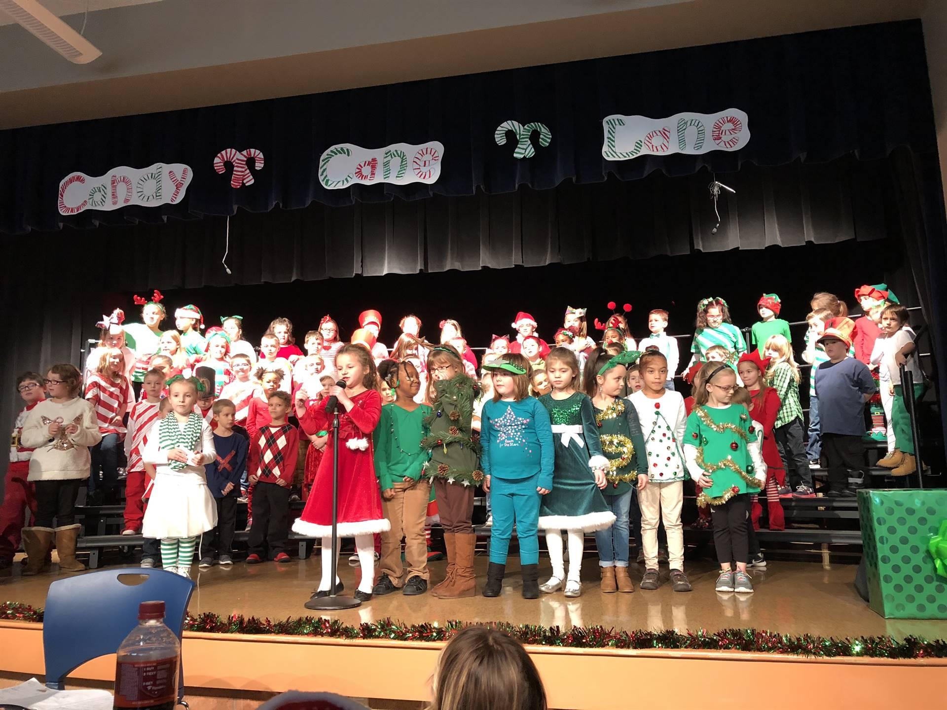 Mrs. Bowman, Mrs. Lehman, Mrs. Esposito, Mrs. Six--- Christmas Perfomance 2017
