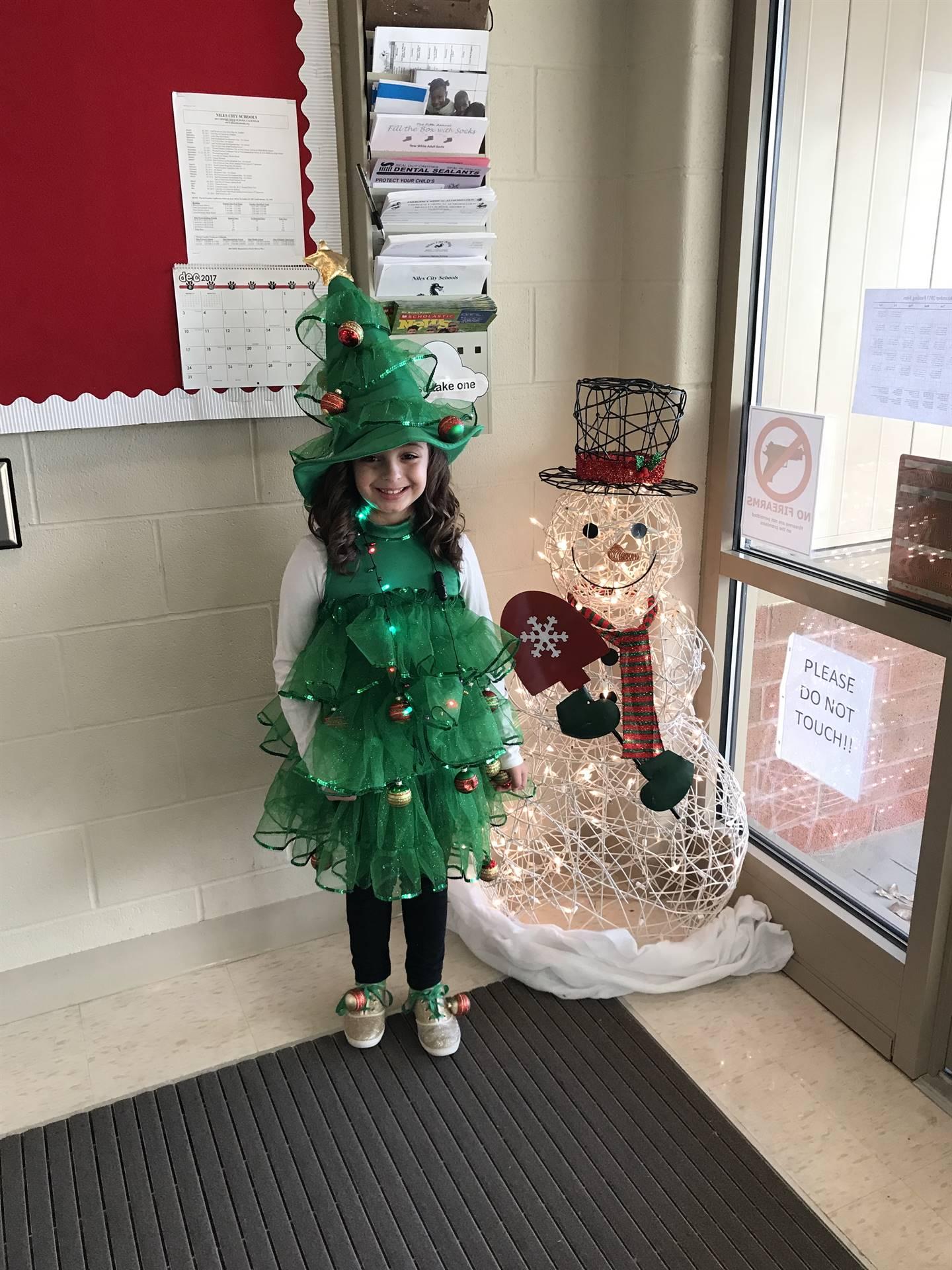 Christmas Program 2017-- Mrs. Duncan's student