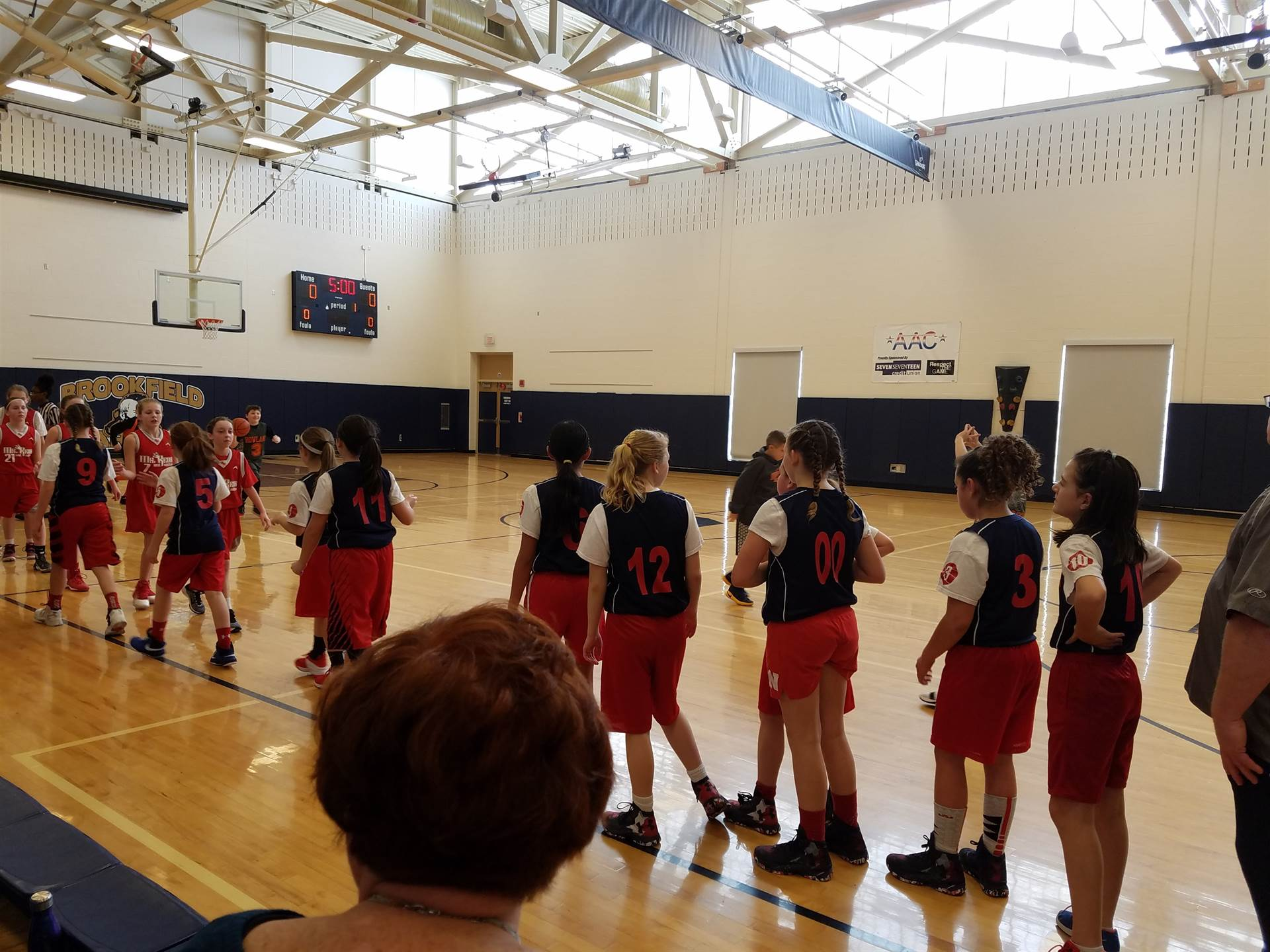 5th Grade Lady Dragons win against West Middlesex! Congrats Girls and Coach Money! :)