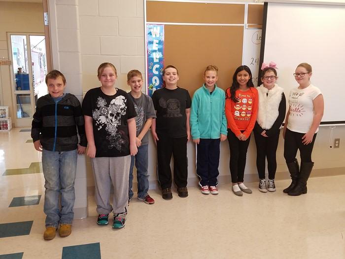 Fifth grade students