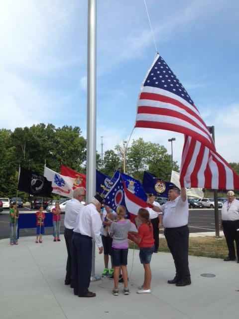 2013 Flag Raising Ceremony