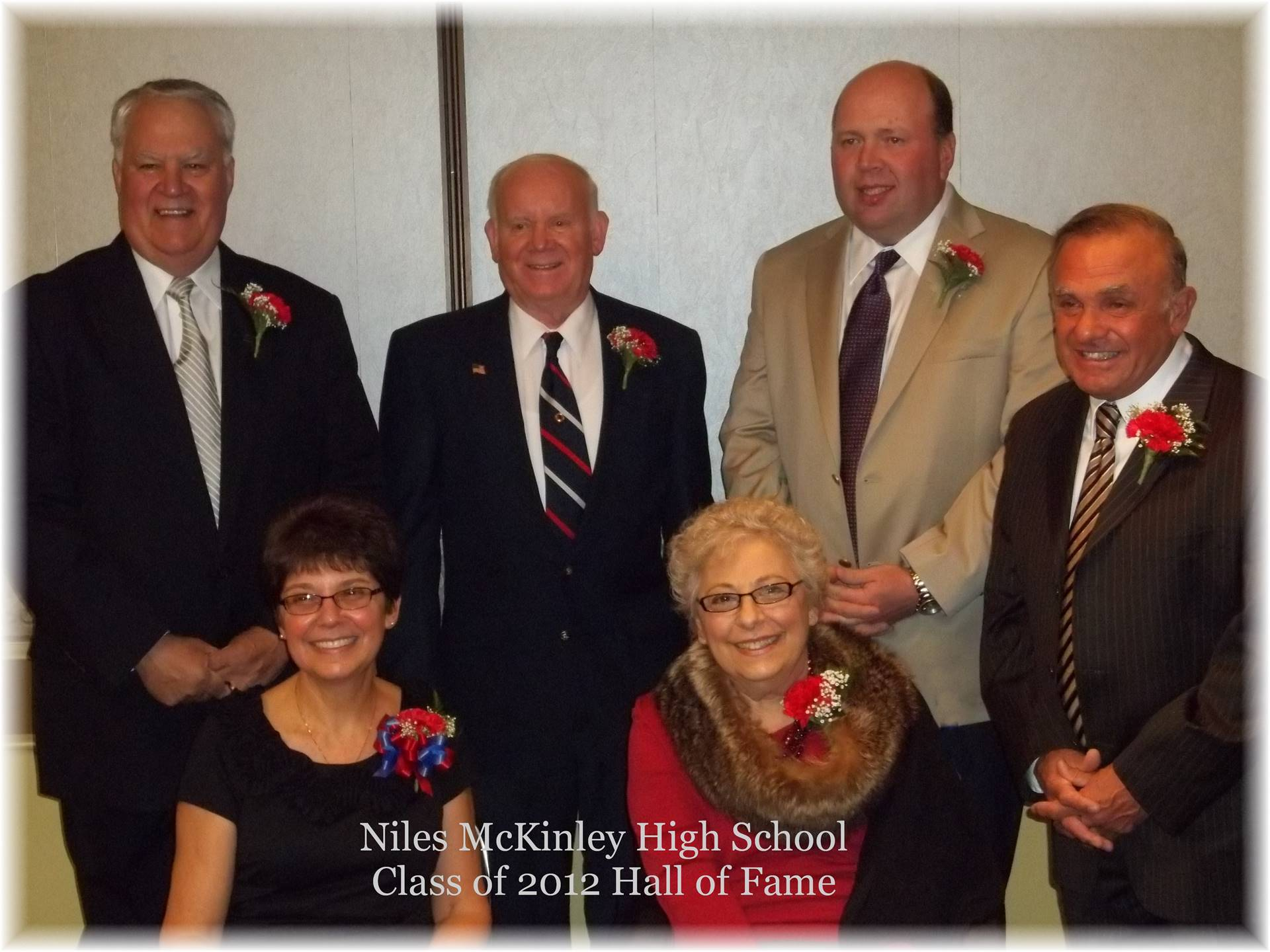 Class of 2012 Hall Of Fame