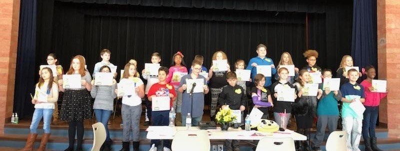 Spelling Bee Champions From Each Classroom