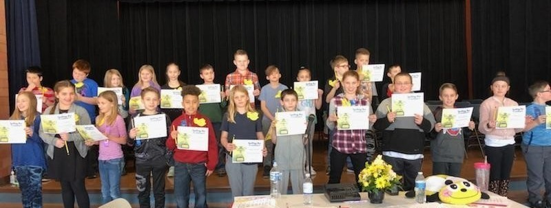 Spelling Bee Runner-ups From Each Classroom