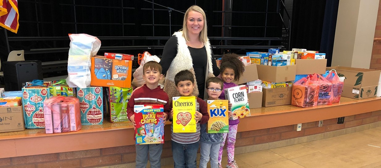 Niles Primary hosts cereal drive to benefit community