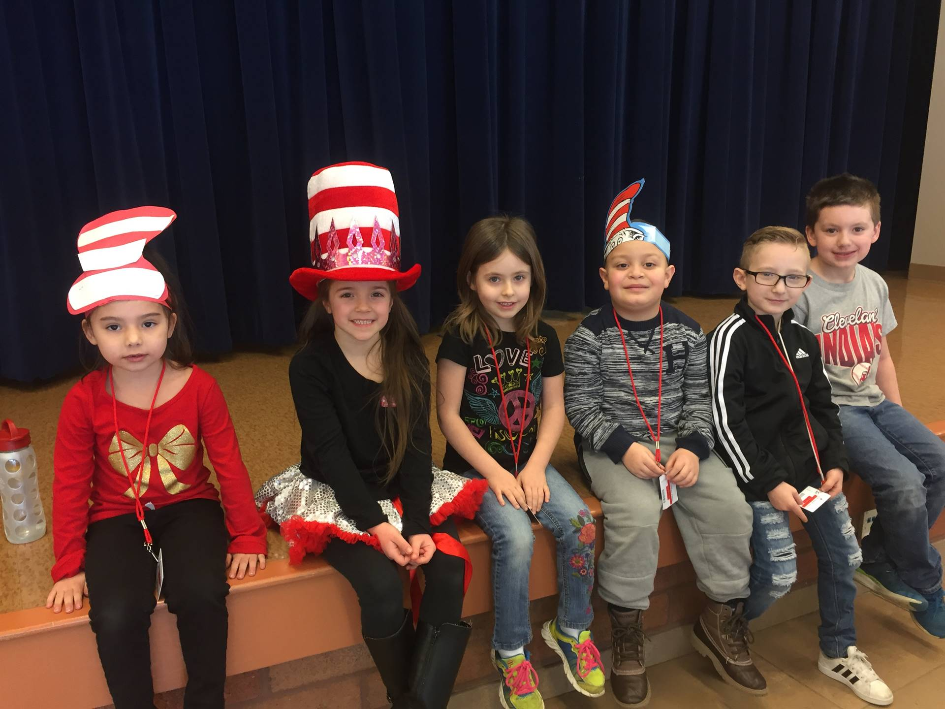 February Kindergarten Student of the Month