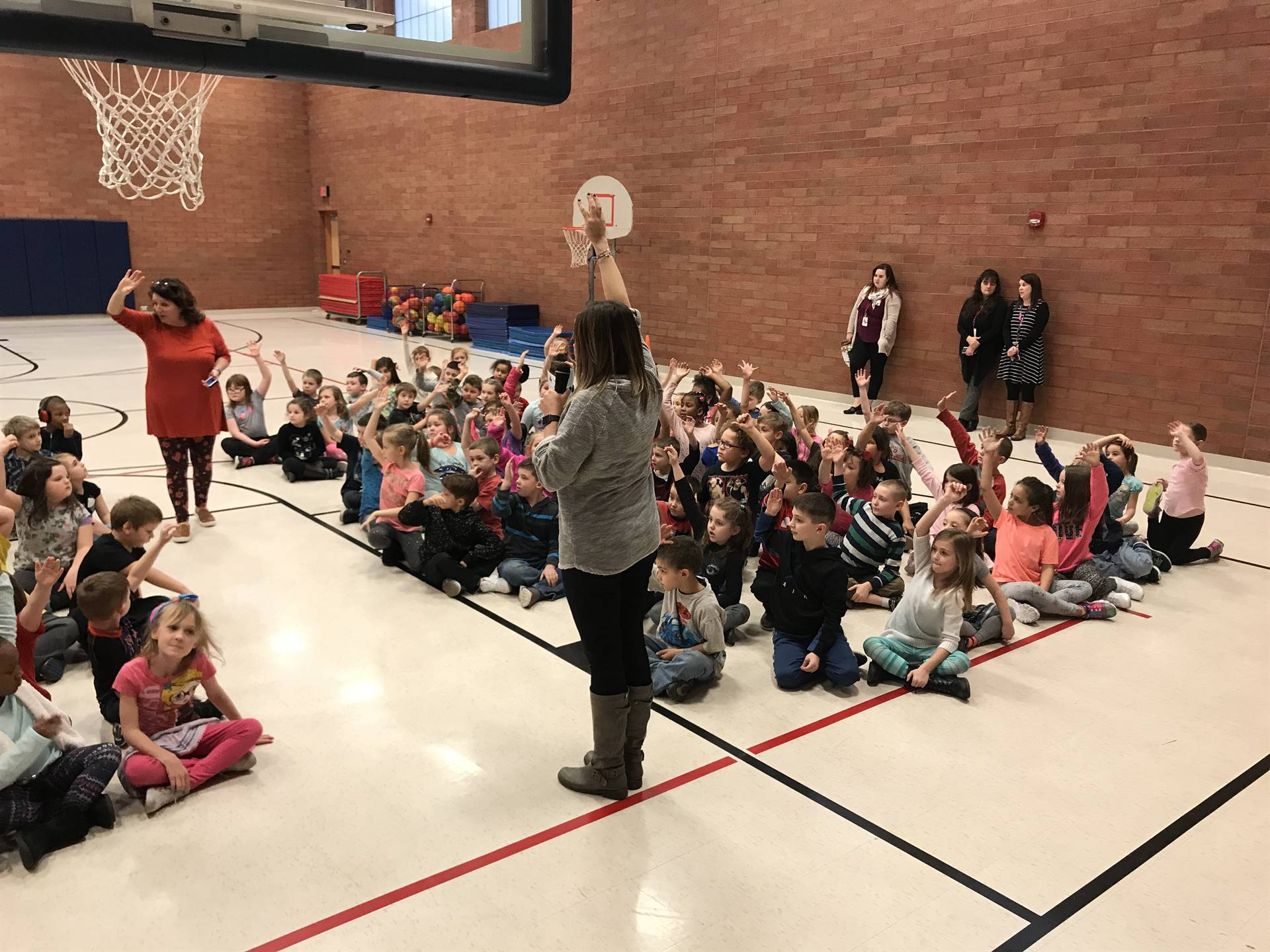 First Grade Behavior Incentive Assembly 3.1.18