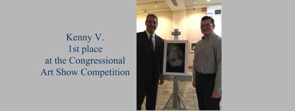Congrats Ken V for 1st place in Congress Art Show