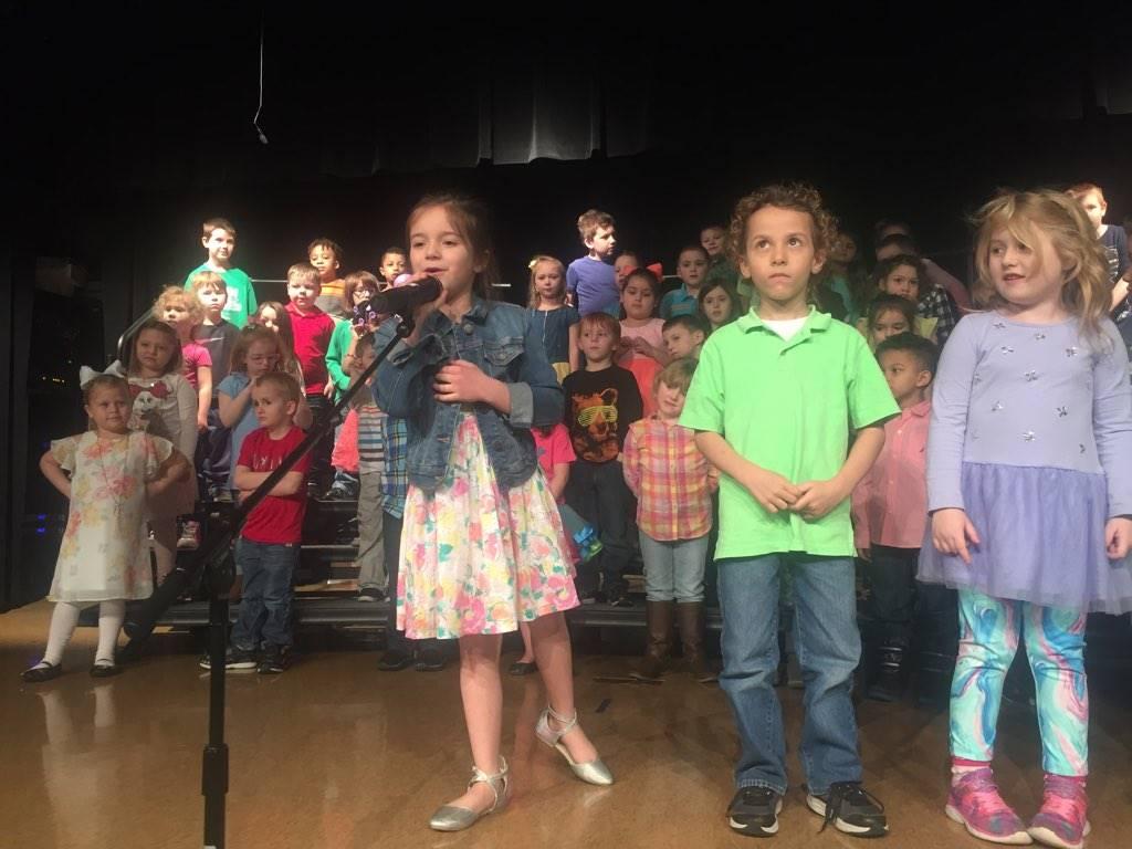 Mrs. Pantelis's class Spring Music Performance