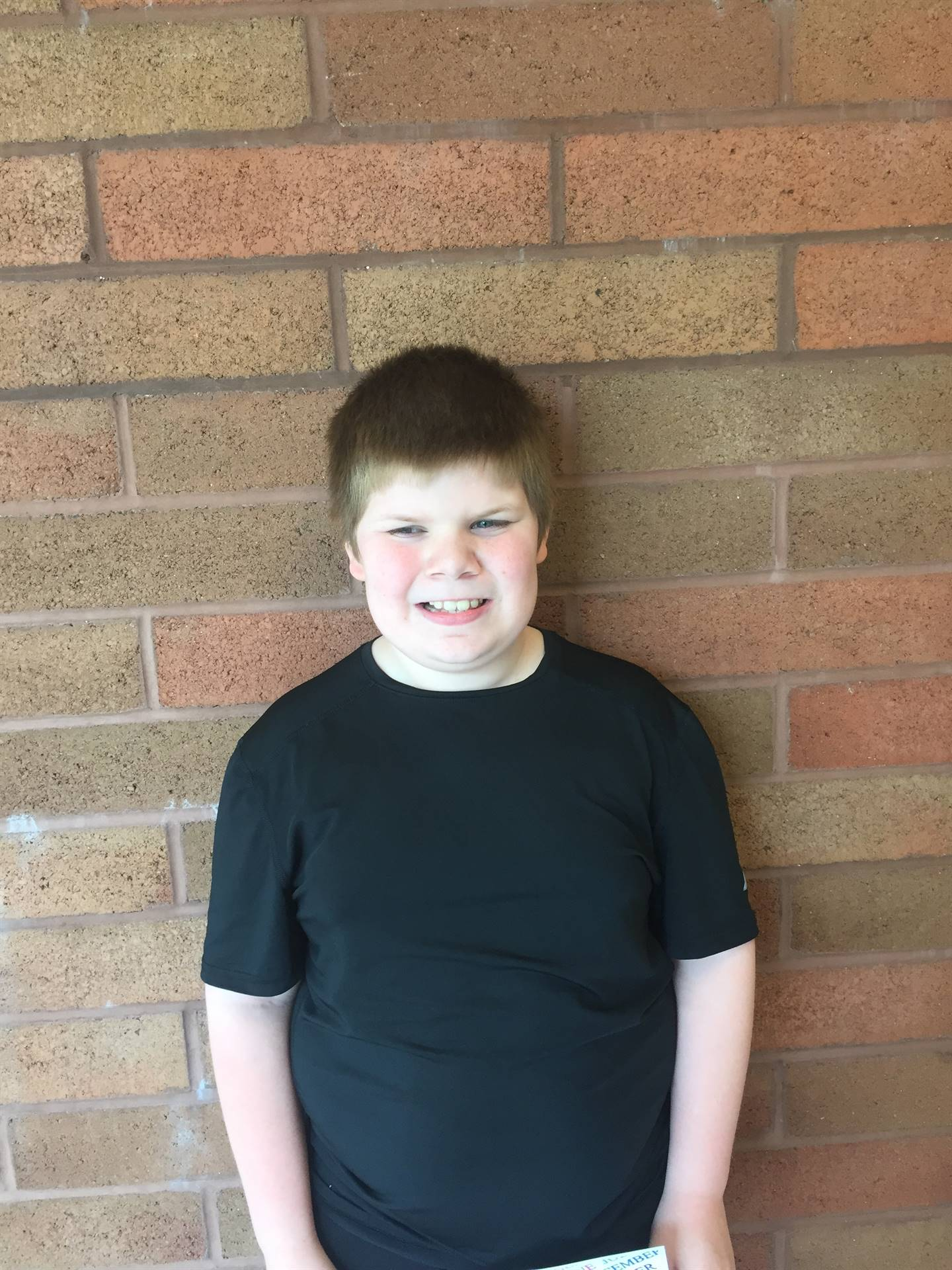 April Student of the Month; Ms. Betts Class