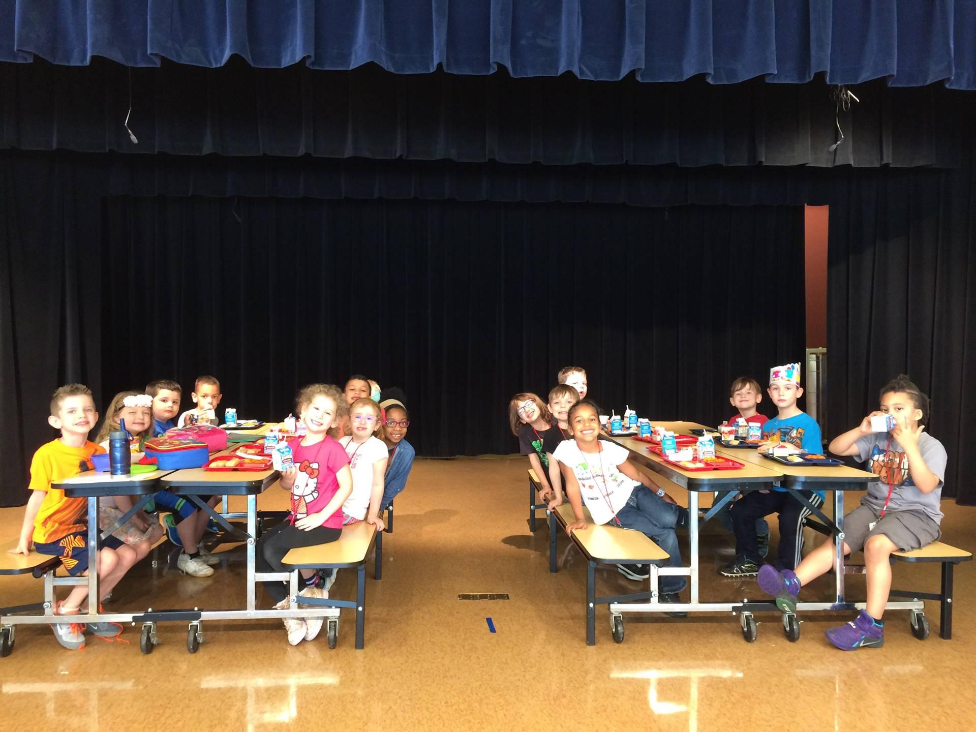 Kindergarten Lunch Award May 2018