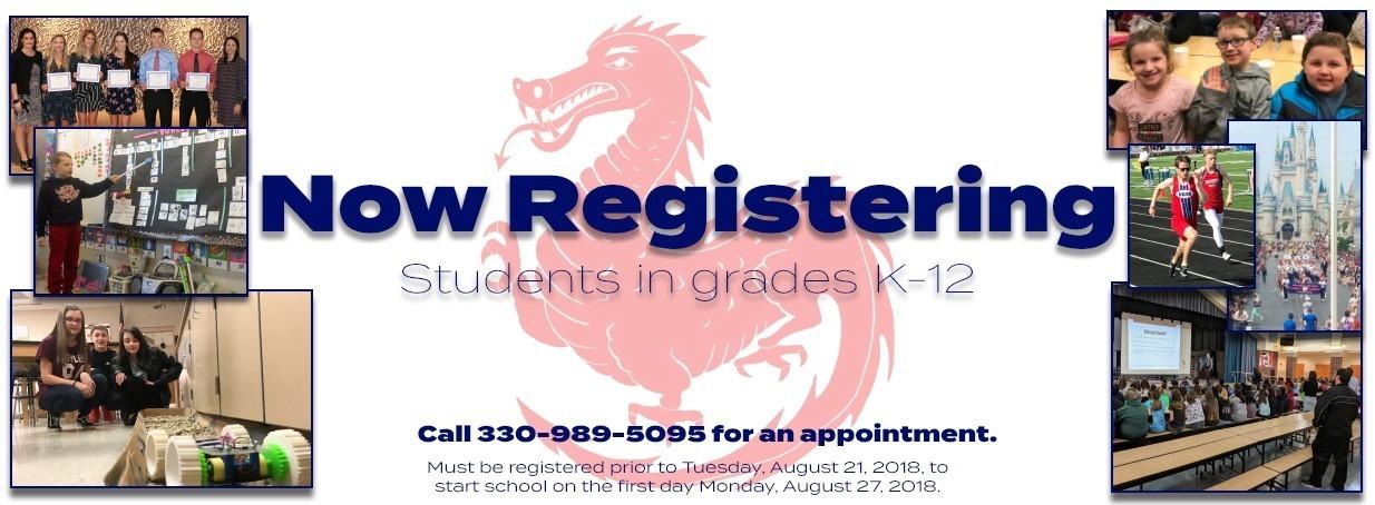 Now Registering