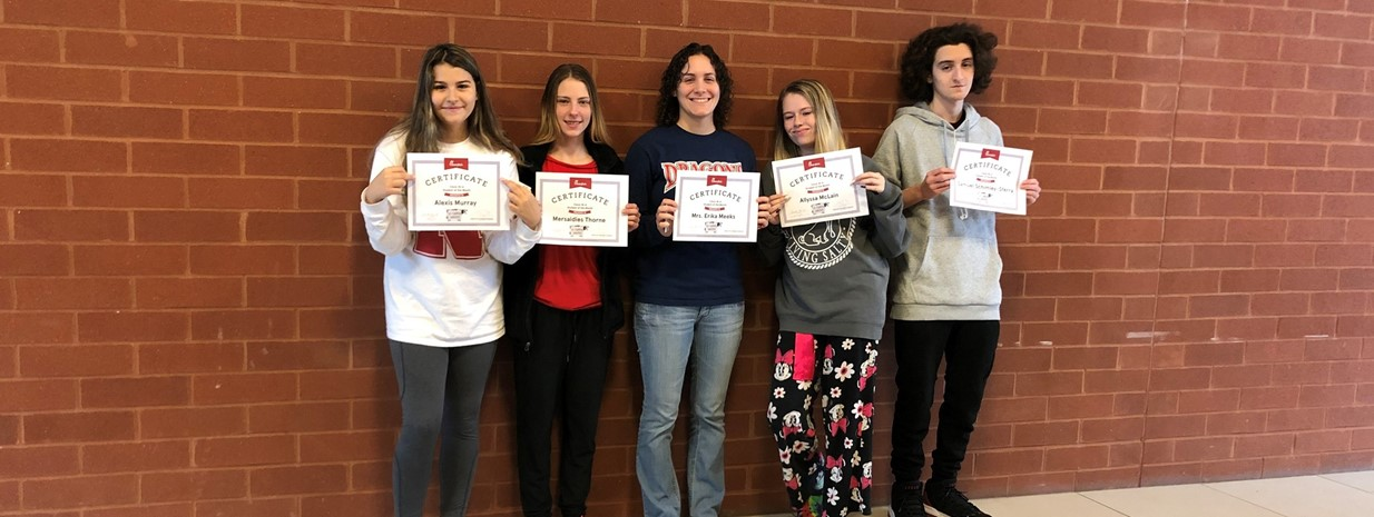 September students and staff of the month