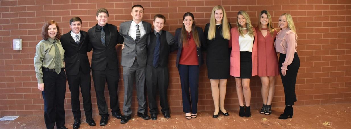 Clayman Scholarship Candidates