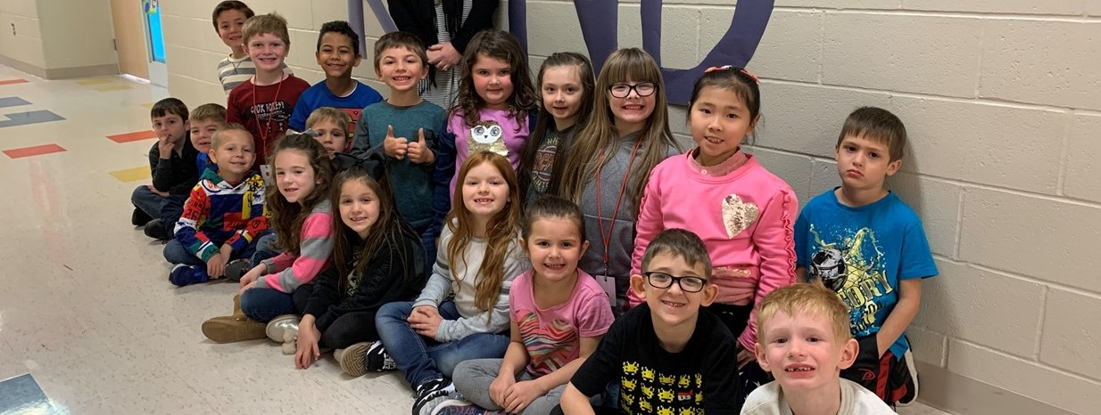 1st Grade celebrates World Kindness Day