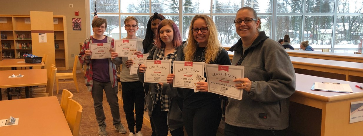 December Students/Teacher of the Month