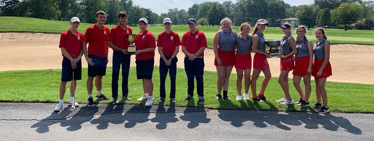 Congrats Golf Teams Bobby Lewis Champs