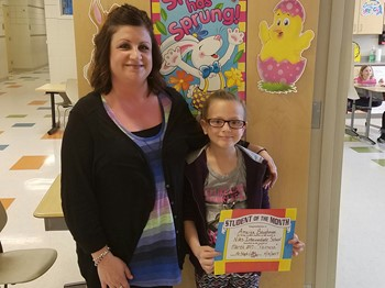 3rd Grade Student of the Month (March), Amaiya Baughman: FAIRNESS