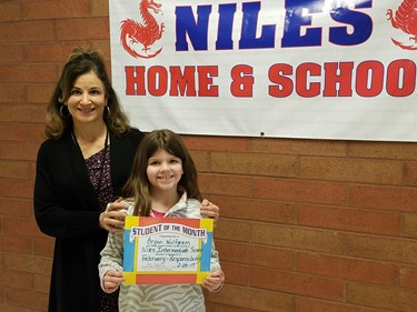4th Grade Student of the Month (February): Brynn Wolfgram, RESPONSIBILITY