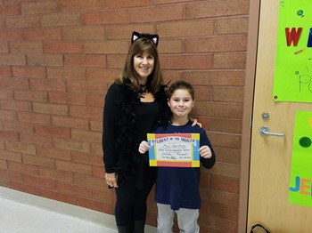 4th Grade Student of the Month, Max Narotsky: RESPECT